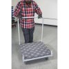Industrial Cart with Carpeted Deck