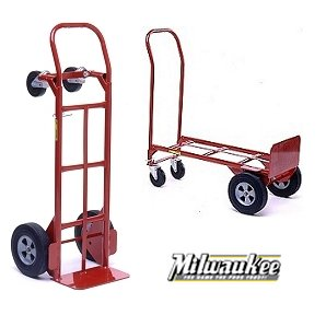 hand trucks r us milwaukee heavy duty convertible hand truck item 47180 - Heavy Duty Hand Truck