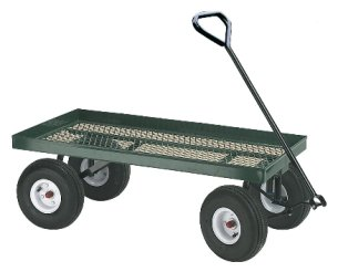 Hand Trucks R Us Great Plains Flatbed Nursery Wagon Item